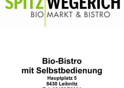 Speisekarte Spitzwegerich Leibnitz - Seite 1