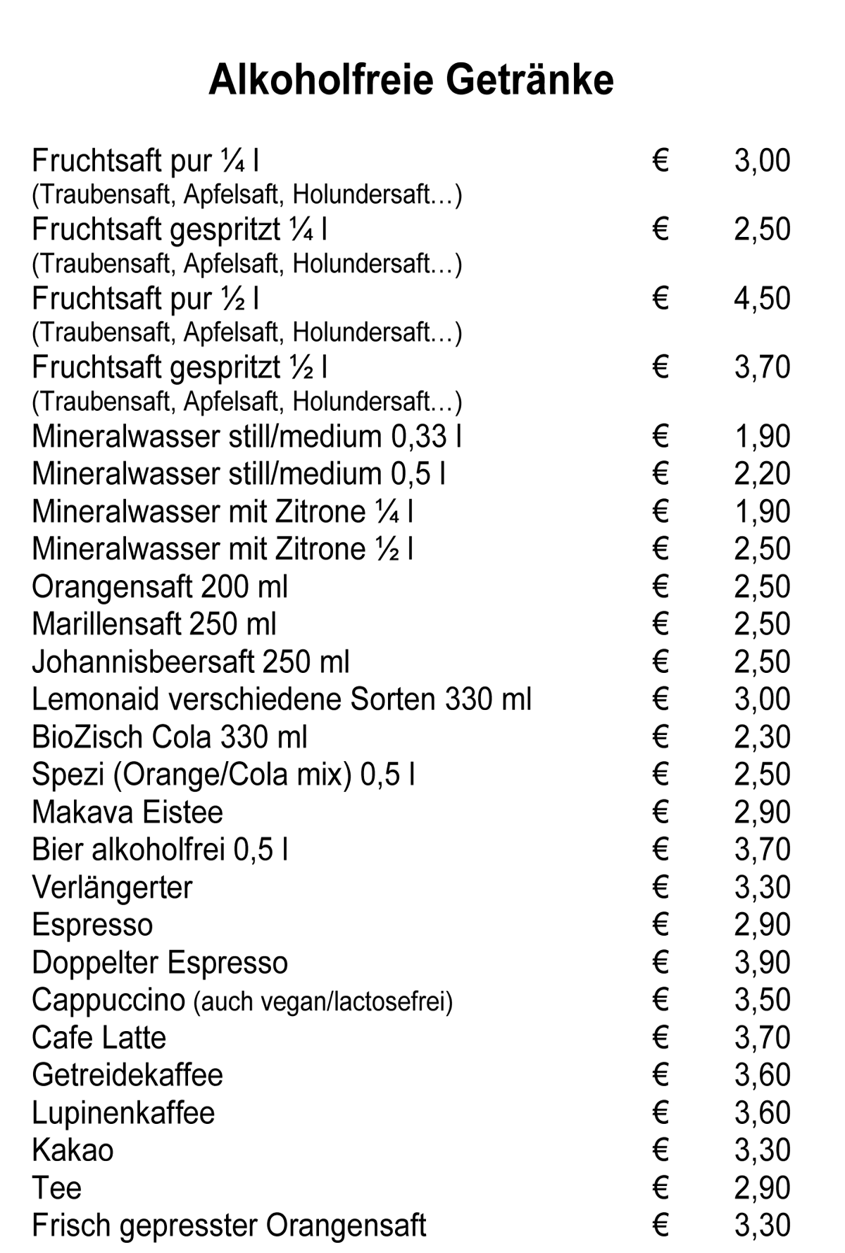Speisekarte Spitzwegerich Leibnitz - Seite 3