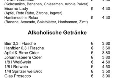 Speisekarte Spitzwegerich Leibnitz - Seite 4